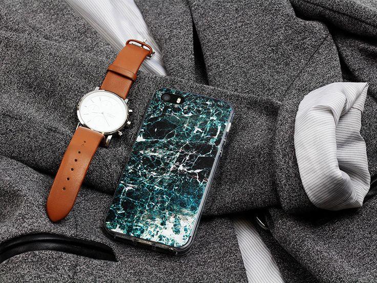 Marmurowe etui na telefon. Stylowe obudowy, które odmienią wygląd Twojego smartfonu. Więcej na http://www.etuo.pl/marble-collection.html