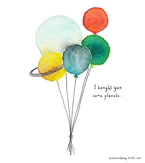tumblr birthday balloons - Buscar con Google