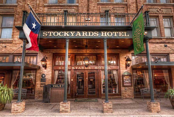 Stockyards Hotel Entrance | Fort Worth Stockyards    James Brandon Photography