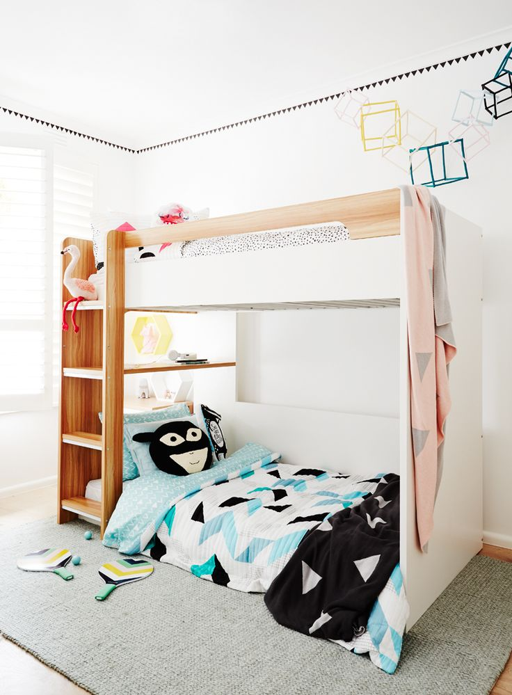 Don't be afraid to play with colour and textures in Kids bedrooms. The Style School- Kids Bedroom   Rebecca Judd Loves – Melbourne