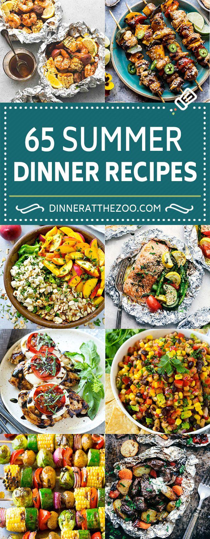 Summer Dinner Recipes   Foil Packet Recipes   Grilling Recipes #summer #dinner #…
