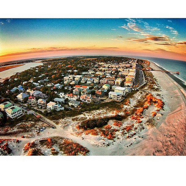 Tybee Island Georgia Beach: Isn't This A STUNNING Photo Of South Beach? Thank You Very