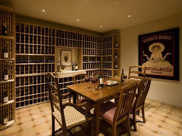 Santa Barbara California Wine Cellar & 46 best Wine Cellars images on Pinterest | Wine cellars Wine rooms ...