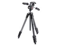 Manfrotto Compact Advanced Tripod with 3 Way Head