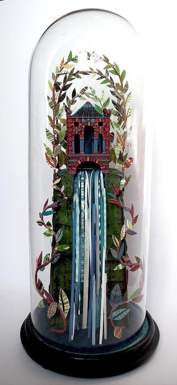 Ed Kluz paper sculpture