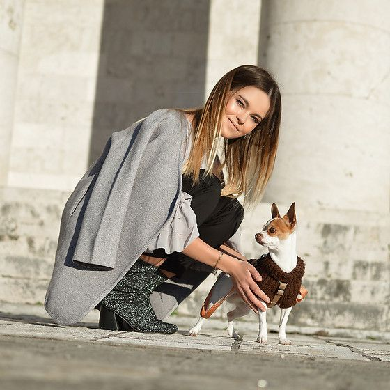 Get this look: http://lb.nu/look/8609385  More looks by Tamara Bellis: http://lb.nu/tamarabellis  Items in this look:  Zaful Cardigan, Yoins Sock Booties   #elegant #romantic #street