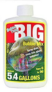 Amazon.com: BubbleThing Big Bubble Instant Powder Refill Mix, 5.4 Gallons (4-Pack): Toys & Games