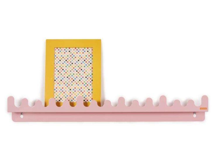 Doodle Drop plank - Pastel Roze