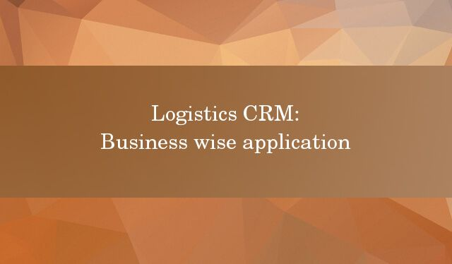 Wondering if a CRM is the perfect solution for your Logistics business? We've curated a list for you, check it out here!  http://blog.dquip.com/which-business-is-logistics-crm-useful-for/  #Logistics #Industry #CRM #Sales #Software