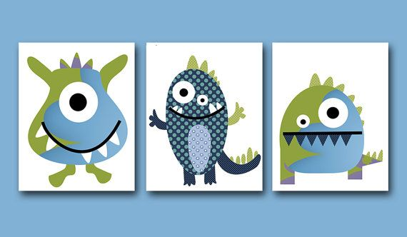Hey, I found this really awesome Etsy listing at https://www.etsy.com/listing/199267927/monster-nursery-digital-files-children