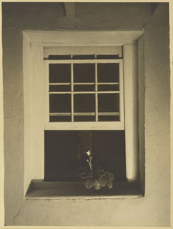 Doylestown House - Open Window (1917). Charles Sheeler