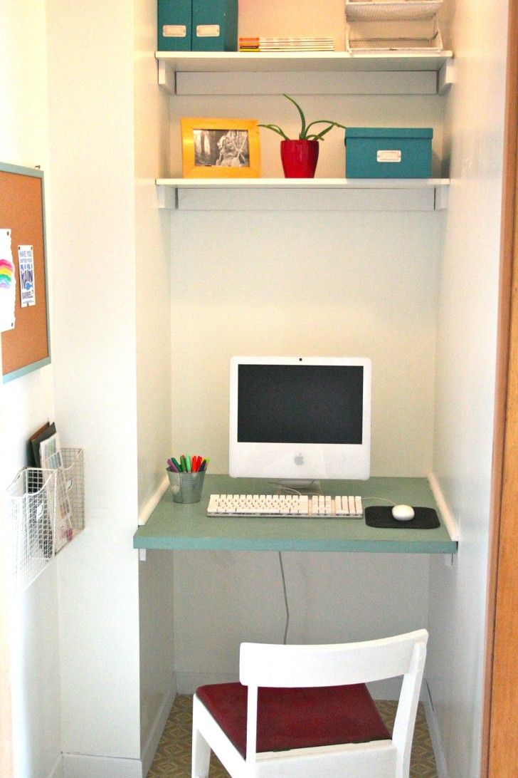 18 best images about computer stuff on pinterest coffee cafe computer desks and pc games - Small space solutions ikea style ...