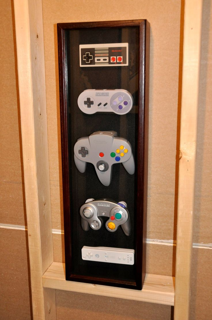 I want to make one of thee but we could easily include playstation and xbox controllers too. I think we should have enough of these lying around