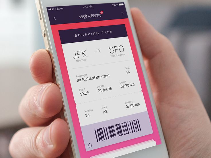 Boarding Pass by Leonardo Zakour.