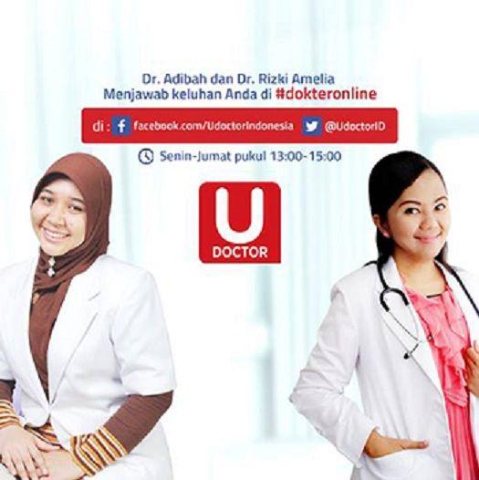 UDoctor, konsultasi kesehatan online untuk masyarakat Indonesia.