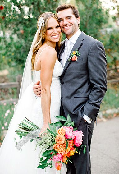 Jackson Hurst (Drop Dead Diva Star) & Stacy Stas wed June 2014 in San Juan Capistrano, California.