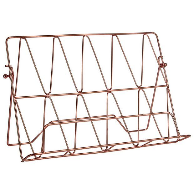 Buy Vertex Copper Finish Cookbook Stand at Argos.co.uk - Your Online Shop for Kitchen utensils, Kitchenware, Cooking, dining and kitchen equipment, Home and garden.