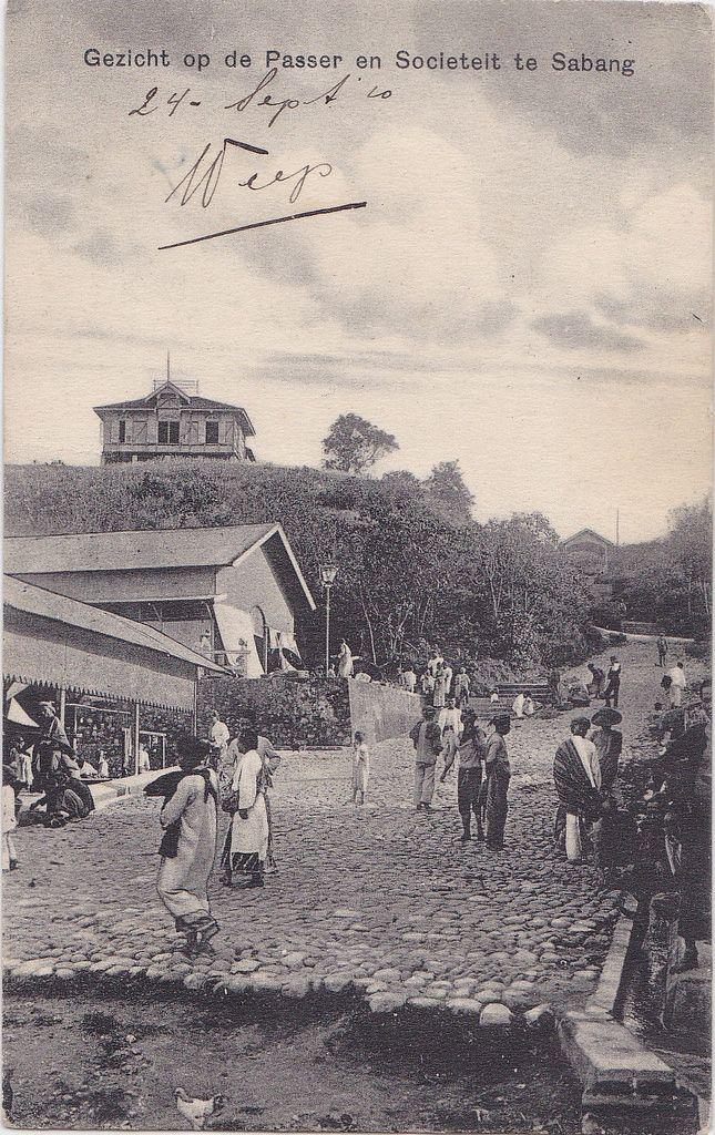 Tempo Doeloe #47 - Sabang, Pasar, 1910   by tokek belanda (very busy)