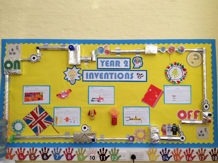 Inventions display board | Library Displays | Pinterest ...