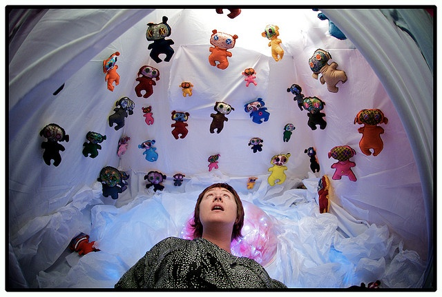 Georgia Freebody in a Falien Invasion Photo by Rob Mynard