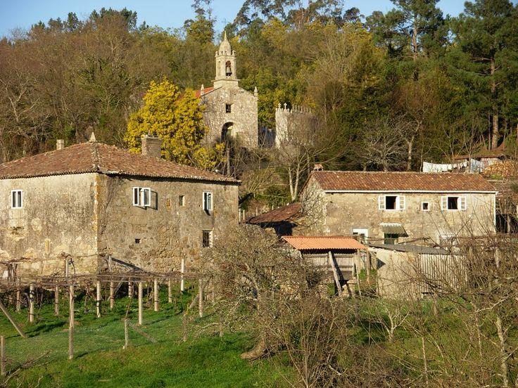 San Mamede de Portela, Pontevedra, Camino Portugués