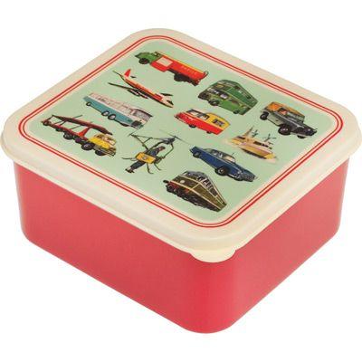Boîte à goûter transport vintage - REX
