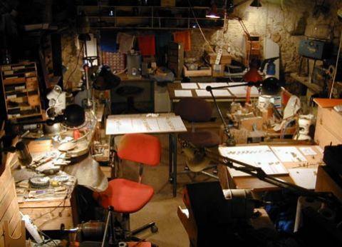 Atelier de création de bijoux et d'alliances