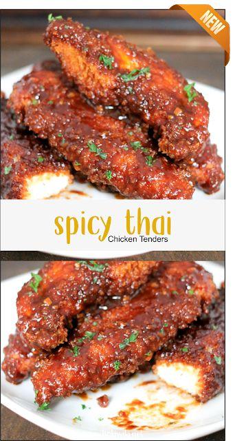 Spicy Thai Chicken Tenders   Latte Intero