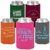 wedding related designs wedding koozies bachelorette party pinterest wedding koozies colors and we