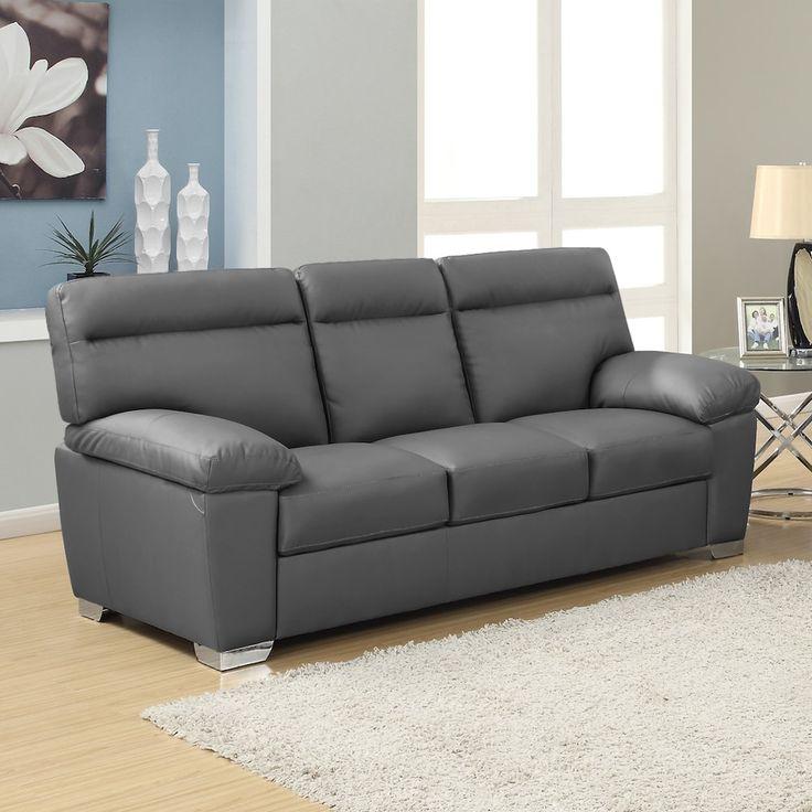 Best 25 Grey leather sofa ideas on Pinterest  Grey