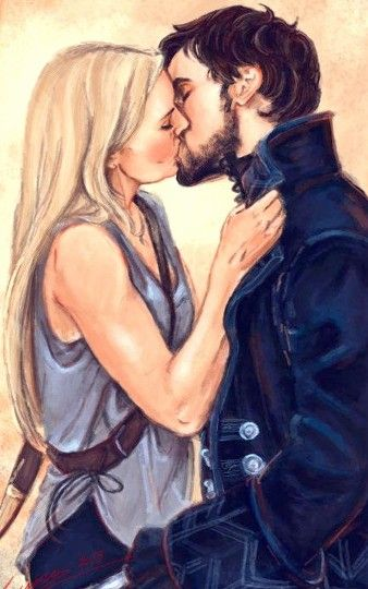 Once Upon a Time - Captain Swan fan art