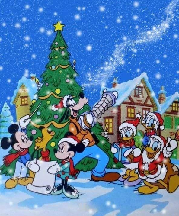 Disney Christmas Disney Merry Christmas Christmas Cartoons Mickey Christmas