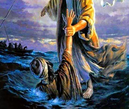 Jesús camina sobre las aguas - Meditaciones Eucaristicas