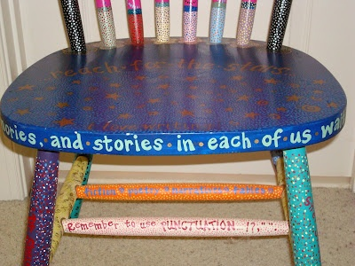 Angie Austin Art: Author's Chairs & Other Chairs