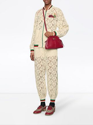 d8f1b226d49b Gucci Flower Lace Jogging Pant | THE ELEGANCE OF HOLY & UPRIGHT ...