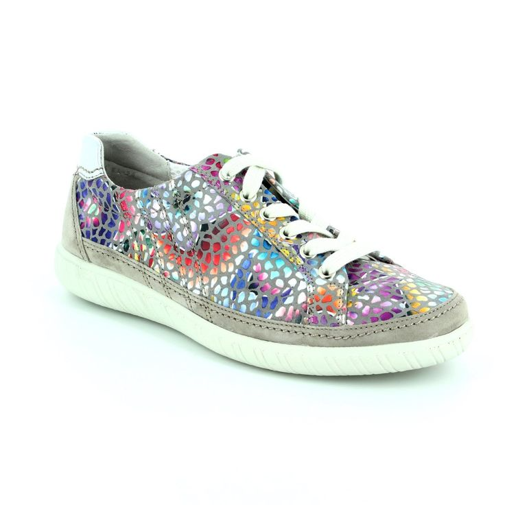 66.458.23 AMULET - Gabor shoes bring you these multi colour trainers...