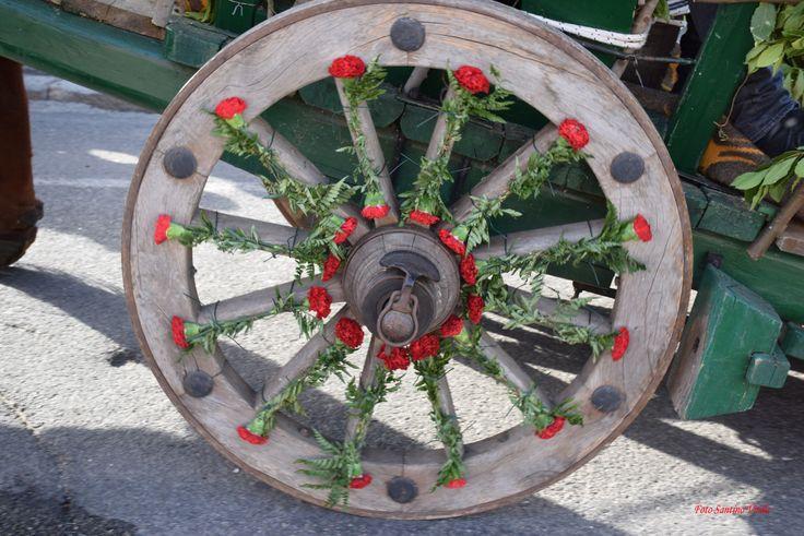 Addobbi floreali - Festa di San Giovanni Battista