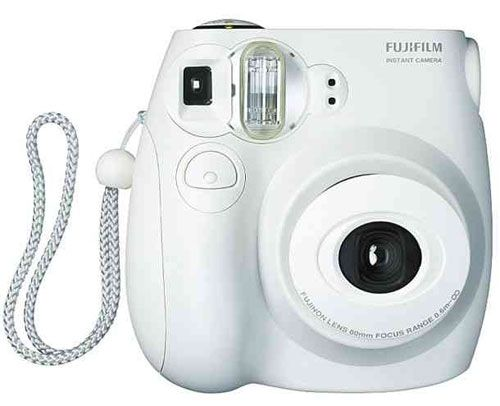 Fujifilm Instax Mini ($84): Instant Cameras for the win! This chic white number makes the sweetest mini photographs.
