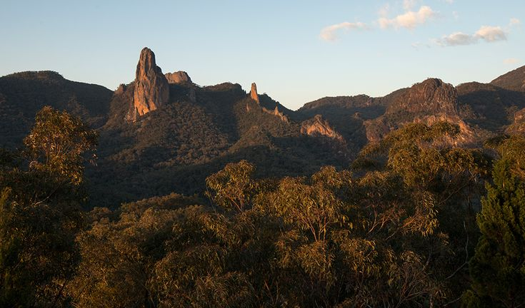 Warrumbungles: considered a climber's paradise - after our very hot Spring…