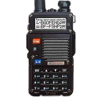 BAOFENG F8HP - $34.99  Wireless Dual Band Walkie Talkie EU BLACK #BaoFeng, #WalkieTalkie, #Radio, #радиостанция, #уокитоки, #gearbest, #рация    3844