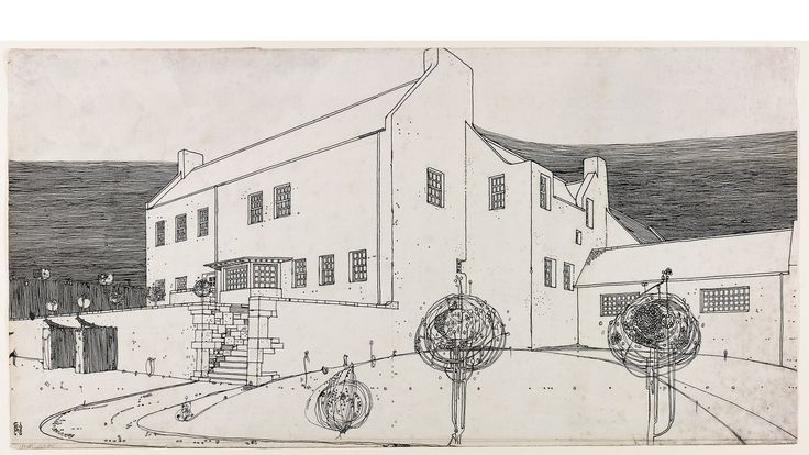 A new exhibition hosted at RIBA examines the architectural works of Charles Rennie Mackintosh