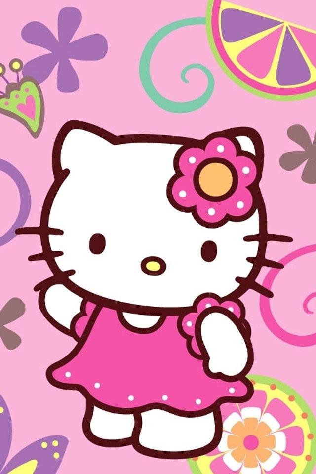 Hello Kitty Tapete Auf Rechnung : Animated Hello Kitty