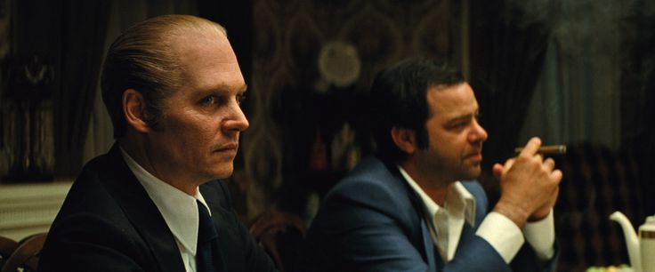 """(L-r) JOHNNY DEPP as Whitey Bulger and RORY COCHRANE as Stephen Flemmi in the drama """"BLACK M http://www.thevideographyblog.com/share/johnny-depp/?share_image=http%3A%2F%2Fd3l9bzfuzkm13y.cloudfront.net%2Fwp-content%2Fuploads%2F2015%2F10%2FBM-FP-0082-1310x545.jpg © 2015 WARNER BROS. ENTERTAINMENT INC., CCP BLACK MASS FILM HOLDINGS, LLC, BLACK MASS HOLDINGS, LLC.AND RATPAC-DUNE ENTERTAINMENT LLC"""