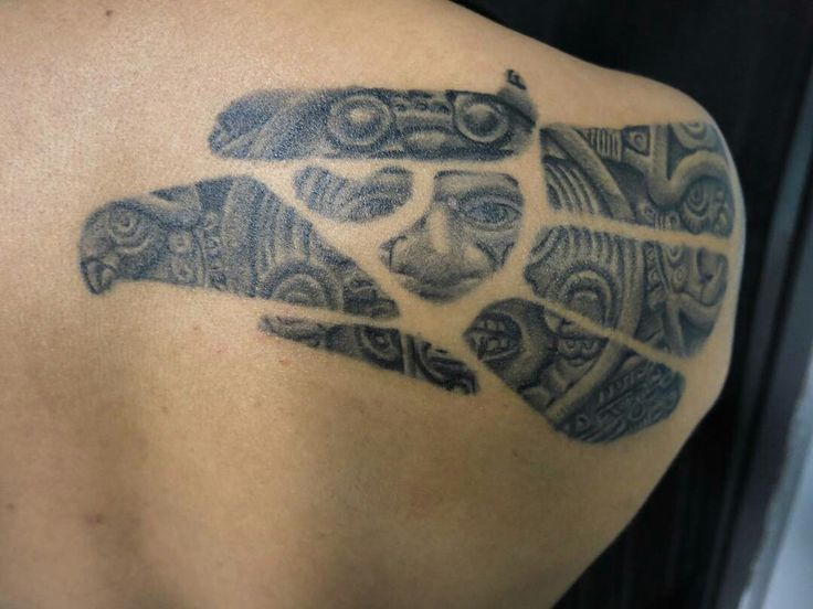 14 best tattoos images on pinterest aztec tattoo designs