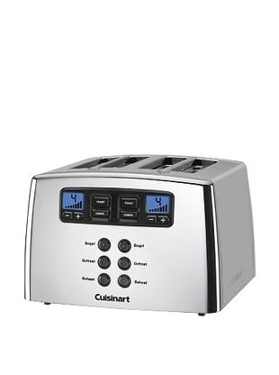 40% OFF Cuisinart Touch to Toast Leverless 4-Slice Toaster (Polished Chrome)