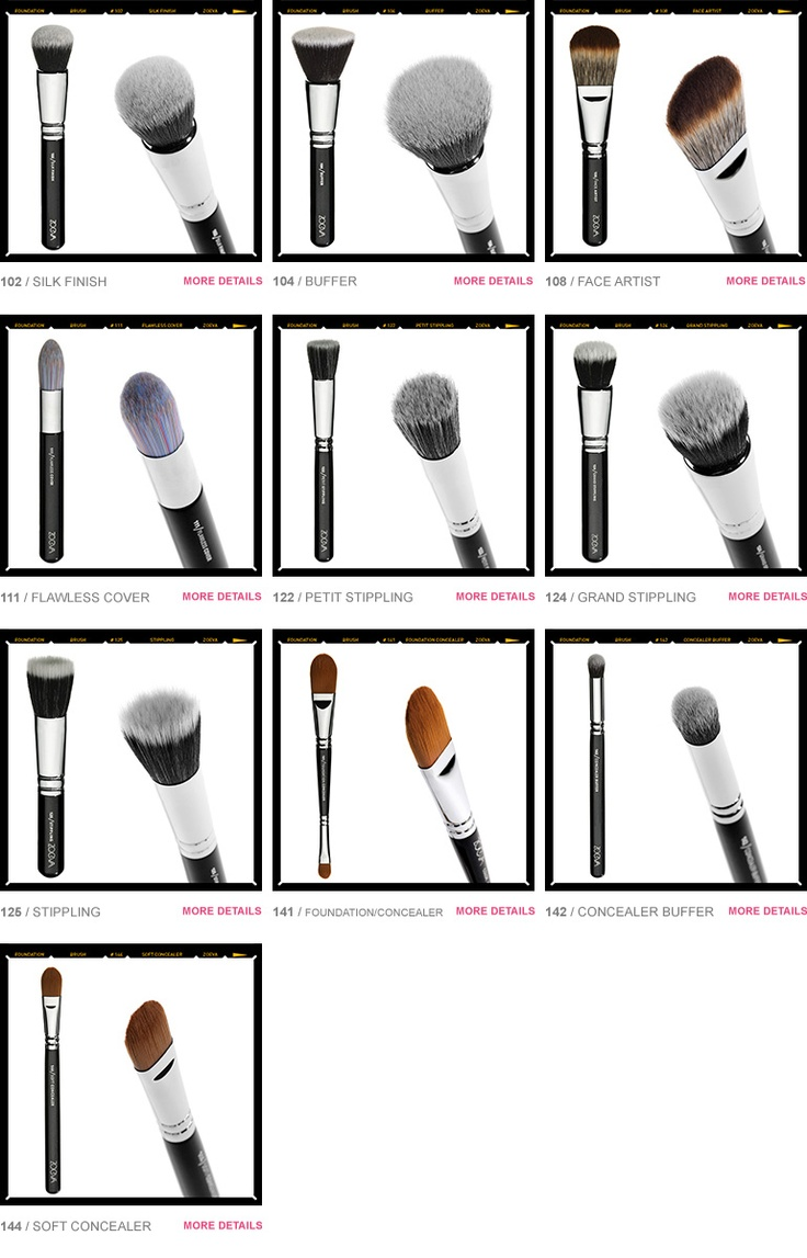Zoeva Brush School - Foundation • Zoeva Shop - Color. Love. Makeup.