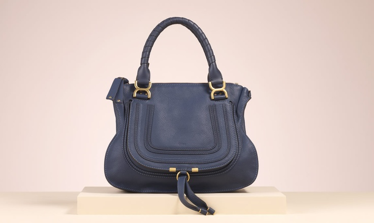 "Chloe ""Marcie"" small shoulder bag with strap in mapple leaf calfskin - on the want list!"