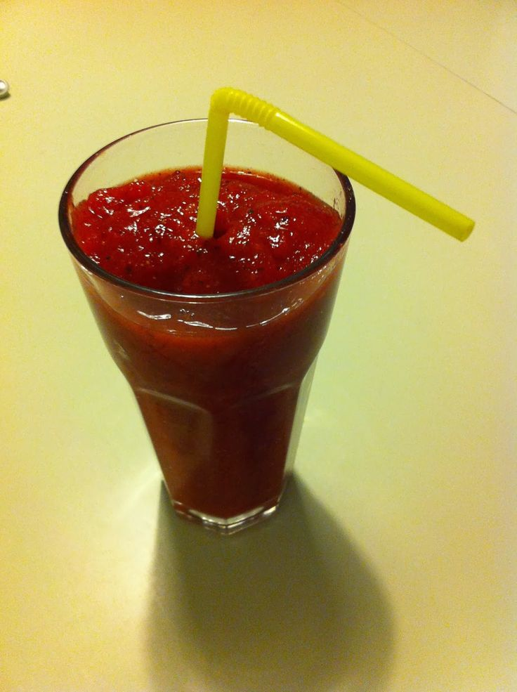 LCHF-HVERDAG: LCHF-smoothie med jordbær og mynte