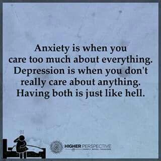 #anxiety #depression