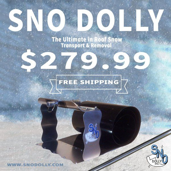 Roof Snow Tool, Snow Removal Equipment, Roof Snow Removal Equipment  www.snodolly.com